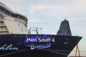Taufe 'Mein Schiff 4'